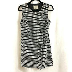 Tabitha Shift Dress Button Detail Pockets Mod 8